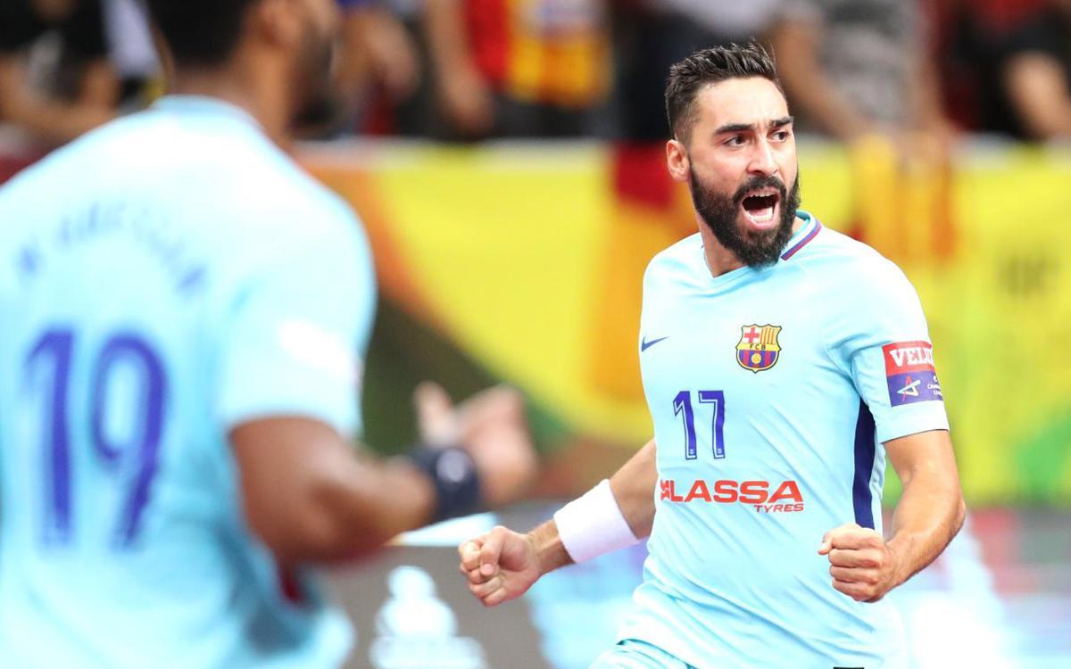 Bada Osca – FC Barcelona Lassa: Ofici i defensa per construir la victòria (17-23)