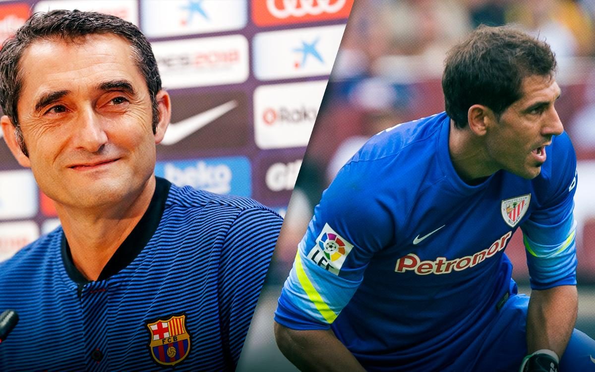 Ernesto Valverde i Gorka Iraizoz es retrobaran a Girona