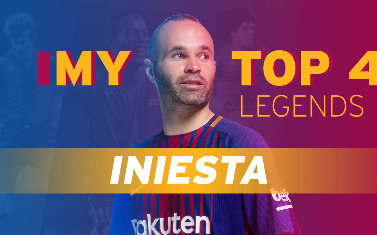 Who would Iniesta have liked to play alongside?