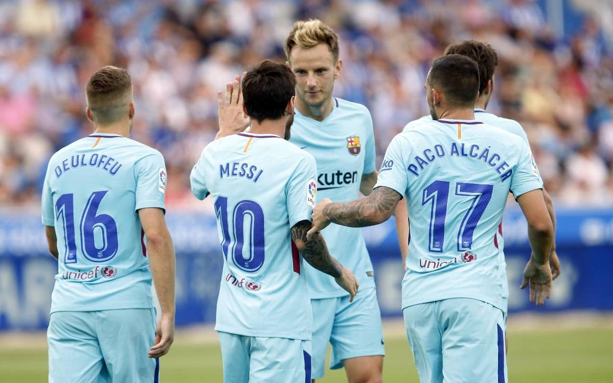 Els dorsals definitius del FC Barcelona 2017/18