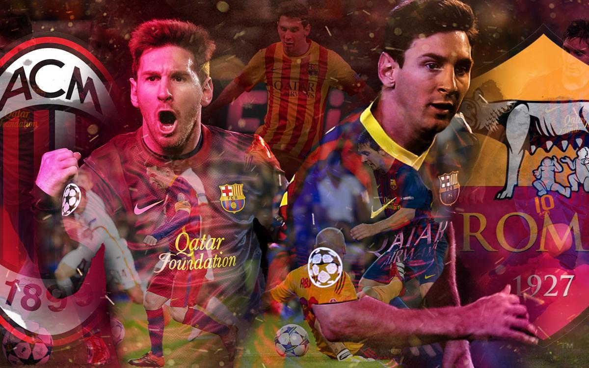 Messi's best goals against Italian teams