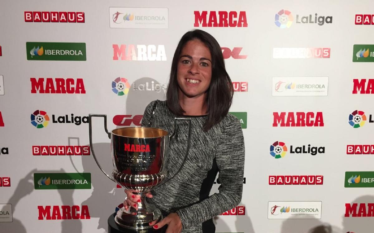 Reconeixement a Marta Torrejón