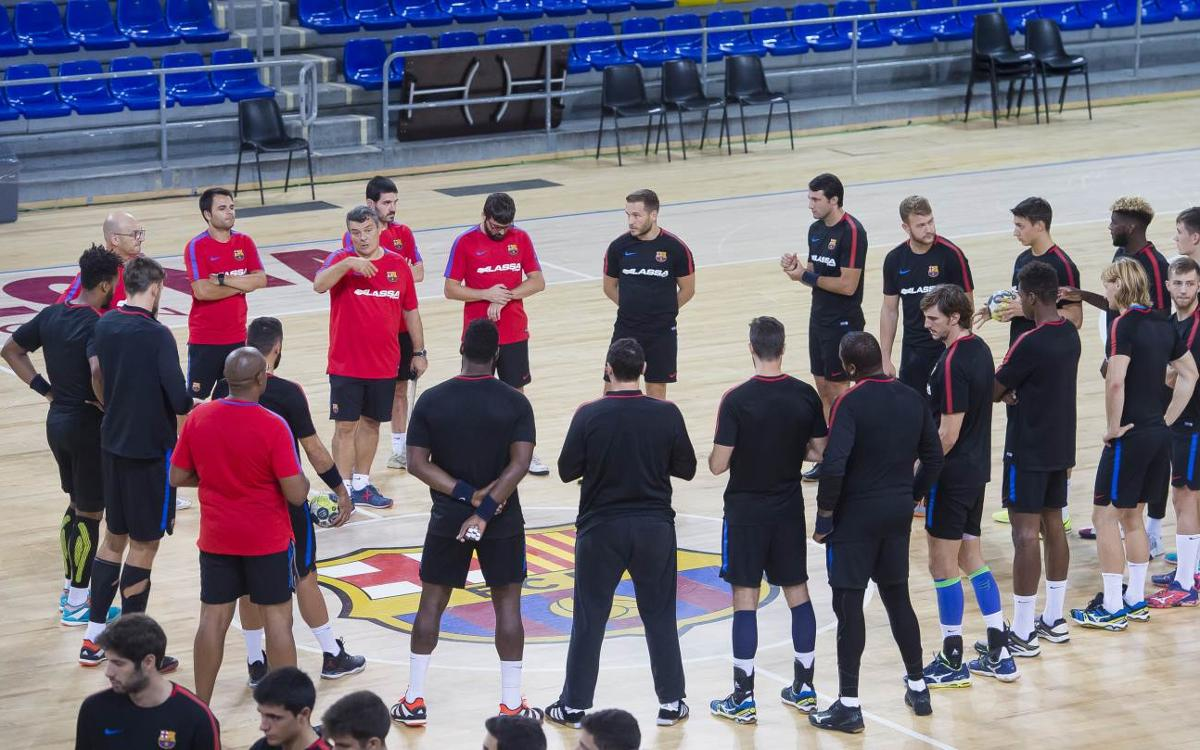 FC Barcelona Lassa – Fertiberia Port Sagunt: I, per fi, l'handbol torna al Palau