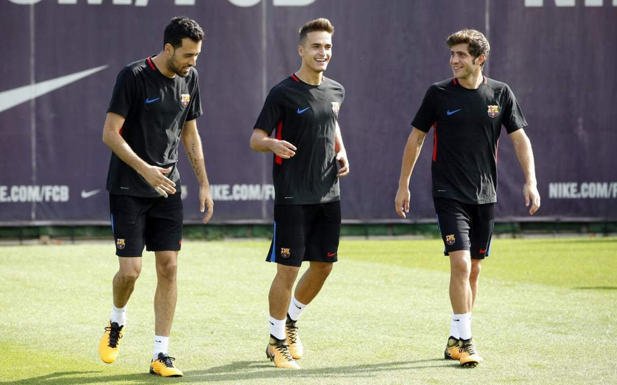 Back to training with La Liga in mind