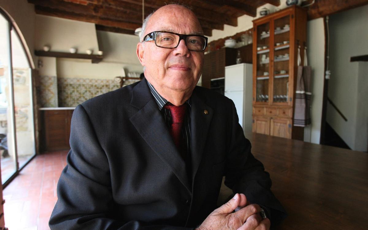 Mor Jacint Borràs, exdirectiu del Club en dues etapes diferents