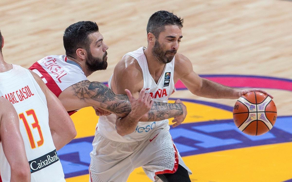 Navarro y Oriola, los únicos azulgranas en los cuartos de final del Eurobasket