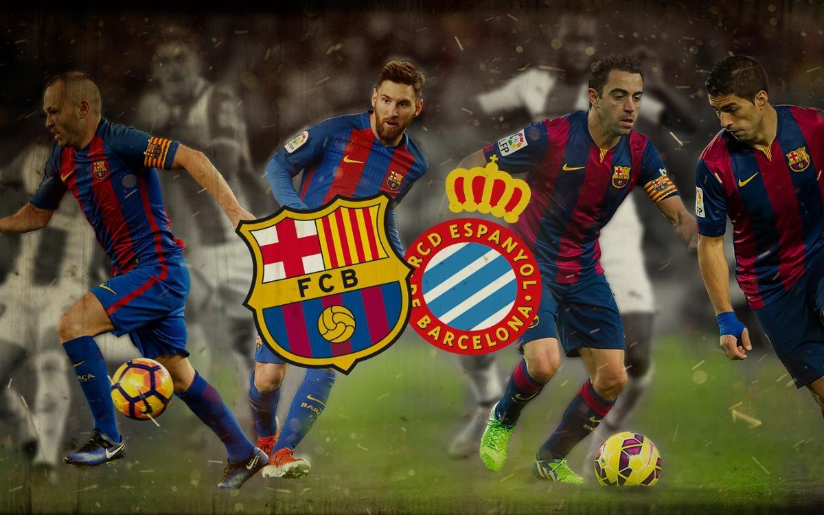 Great goals against Espanyol
