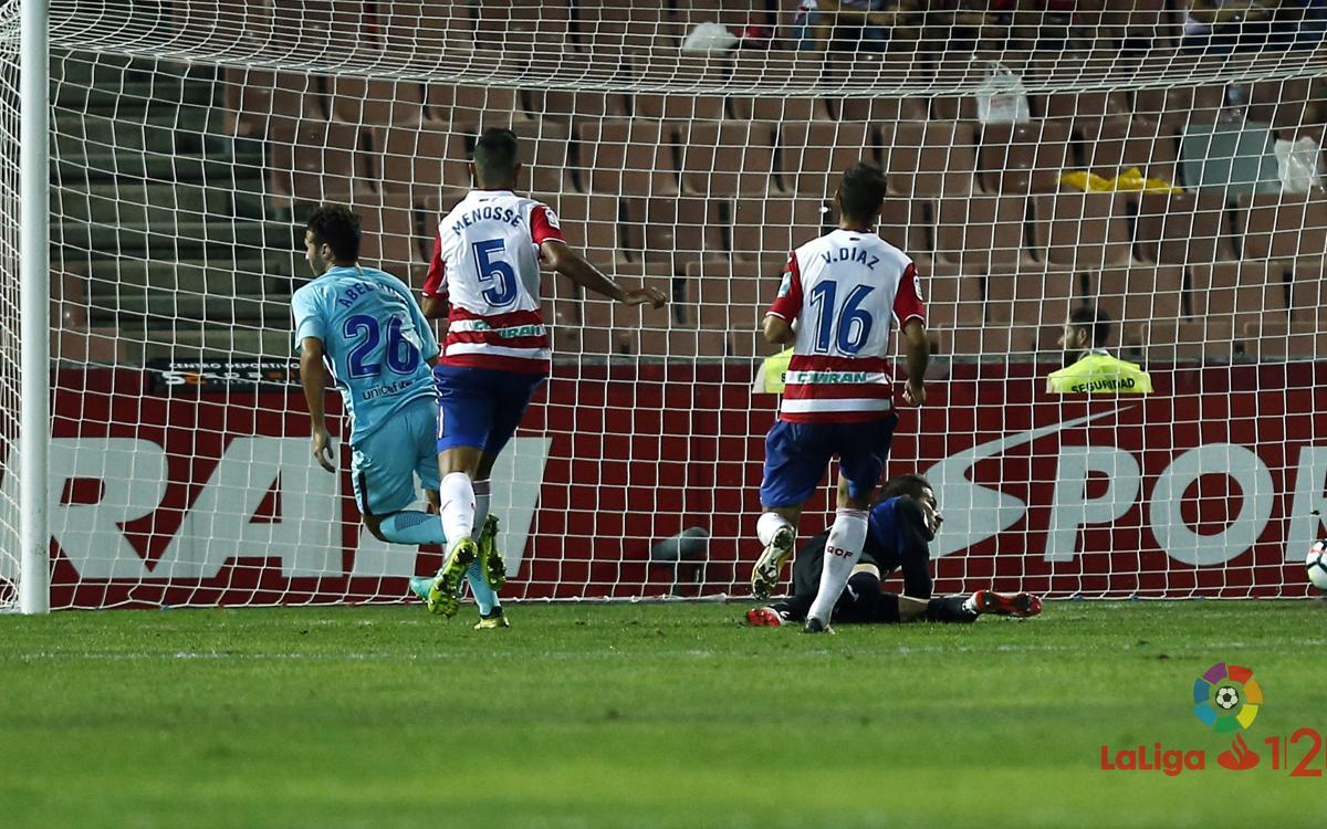 Abel Ruiz i Miranda fan història a La Liga 123