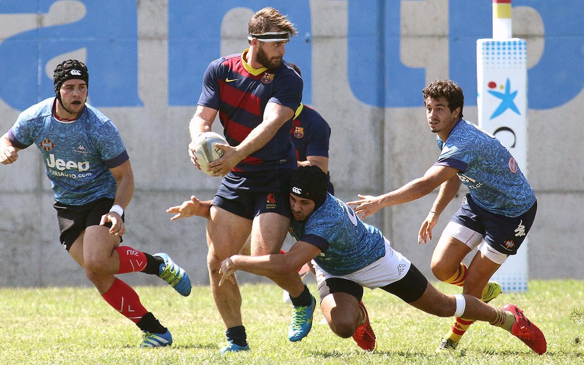 FC Barcelona Rugby- UE Santboiana: Victoria de prestigio (7-14)