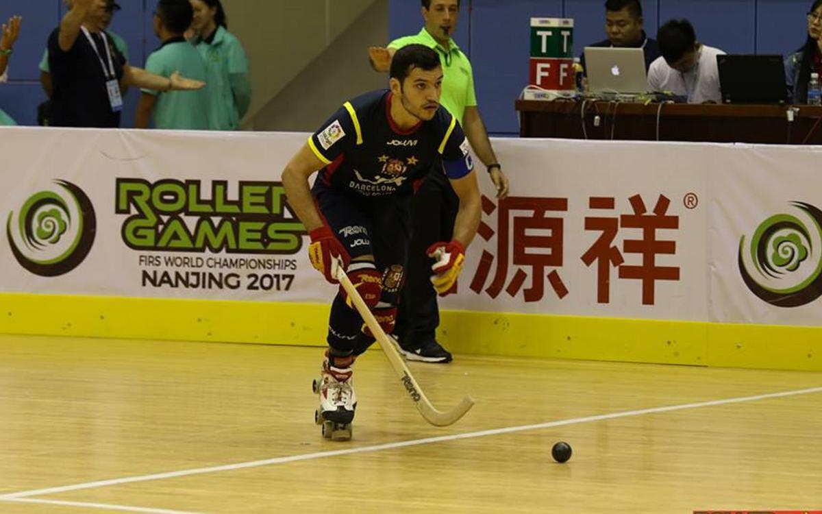 Goles y protagonismo azulgrana en la primera fase del Mundial de Nanjing