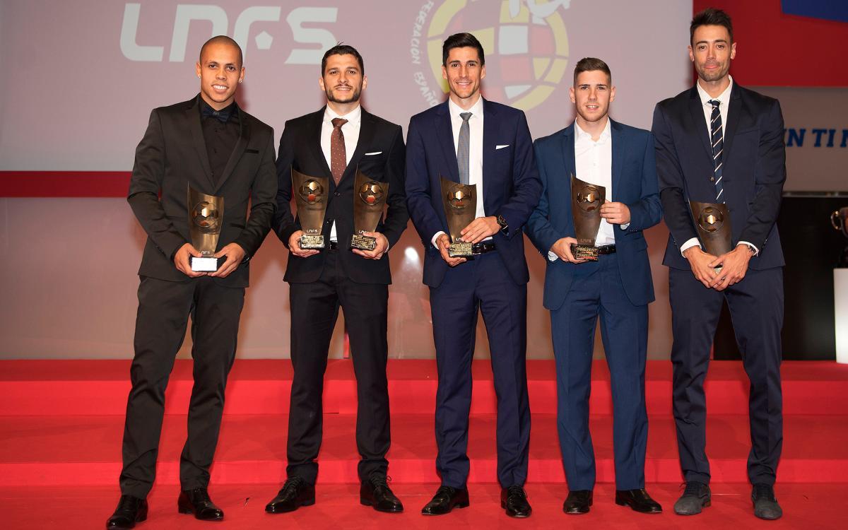 El FC Barcelona Lassa, protagonista en la gala de presentación de la temporada de la LNFS