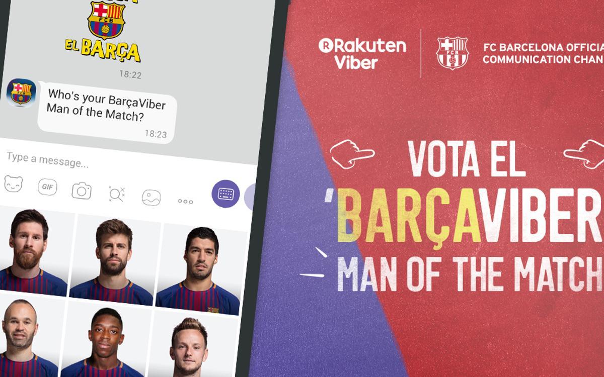 El FC Barcelona estrena un 'chatbot' en Viber