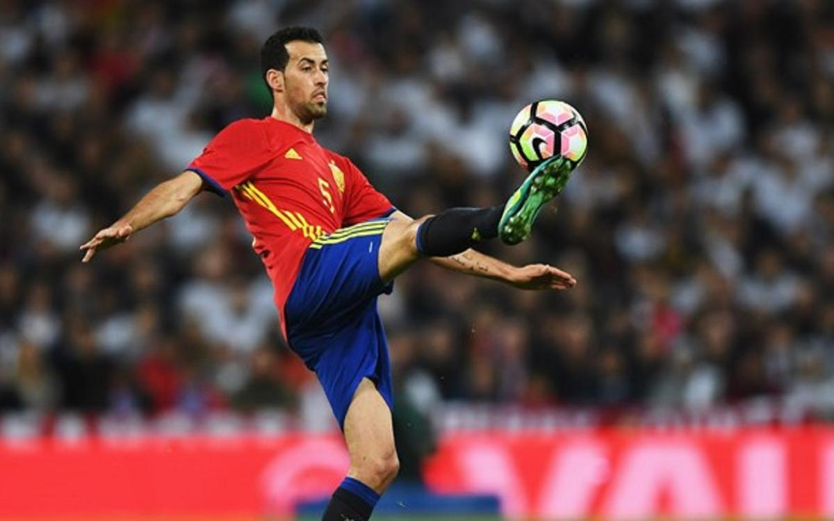 Four Barça players involved in Spain's big win
