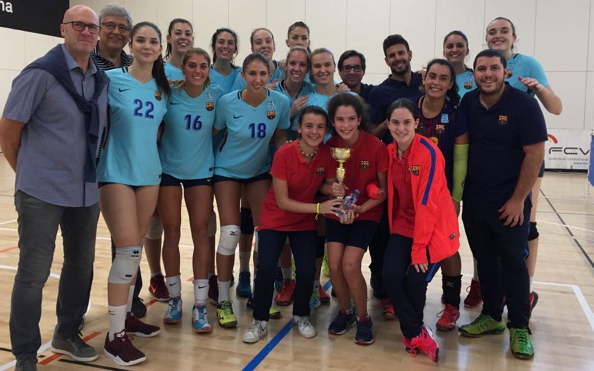 Campions de la Lliga Catalana masculina i femenina