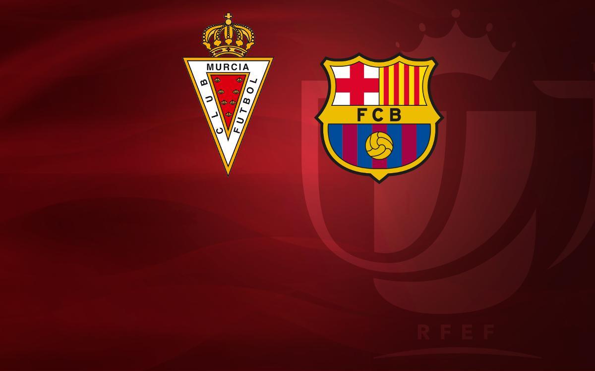El Real Murcia, rival del Barça en los dieciseisavos de Copa