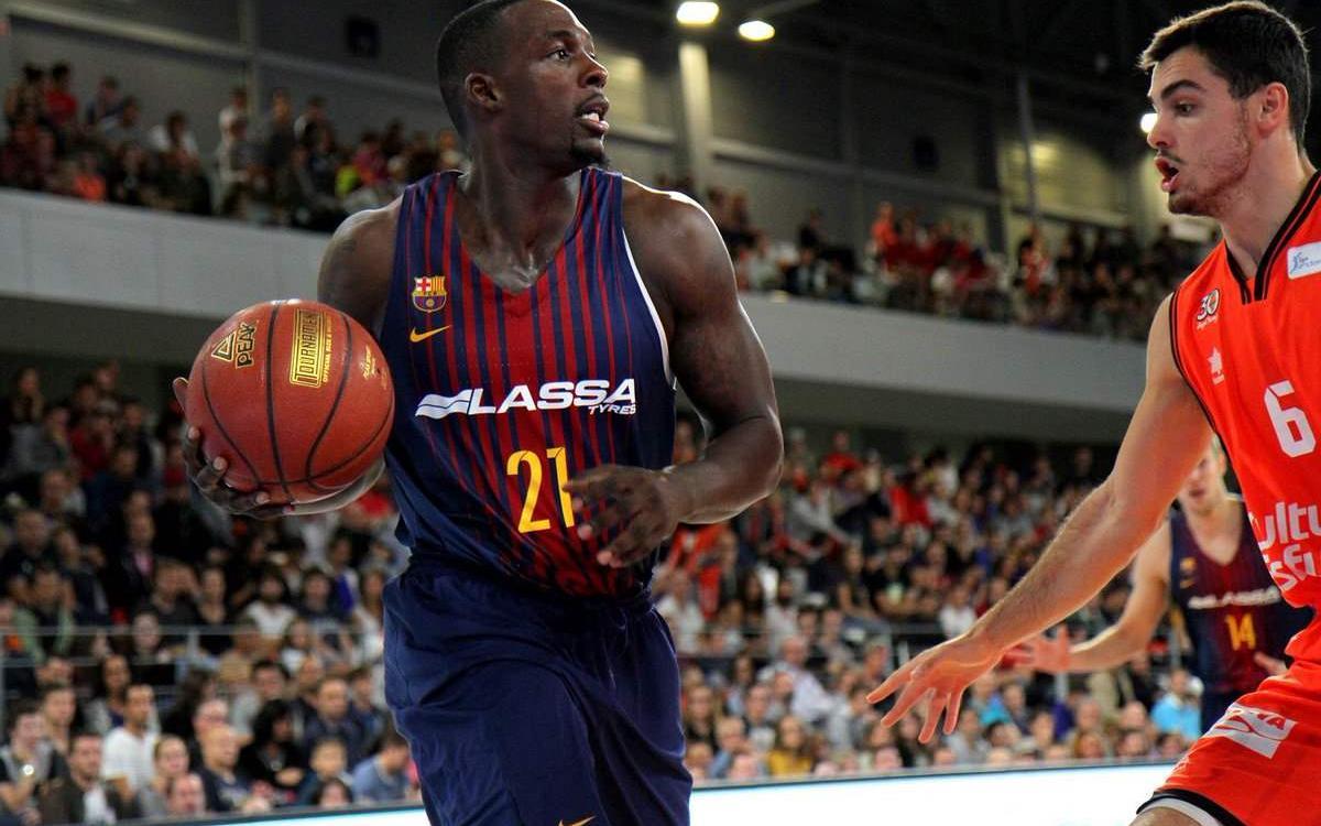 Barça Lassa-València Basket: Segueixen en bona línia (69-63)