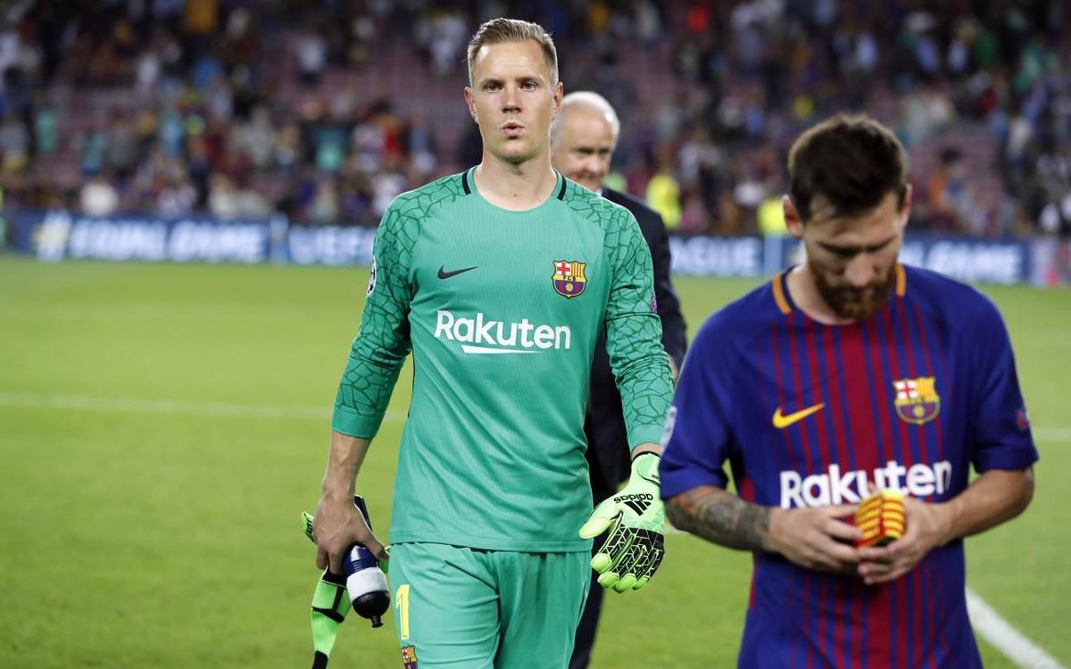 Quart partit consecutiu del FC Barcelona amb la porteria a zero