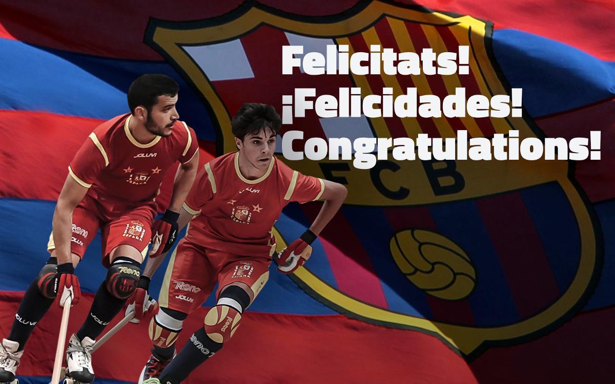 ¡Pau Bargalló y Ignacio Alabart, campeones del mundo!