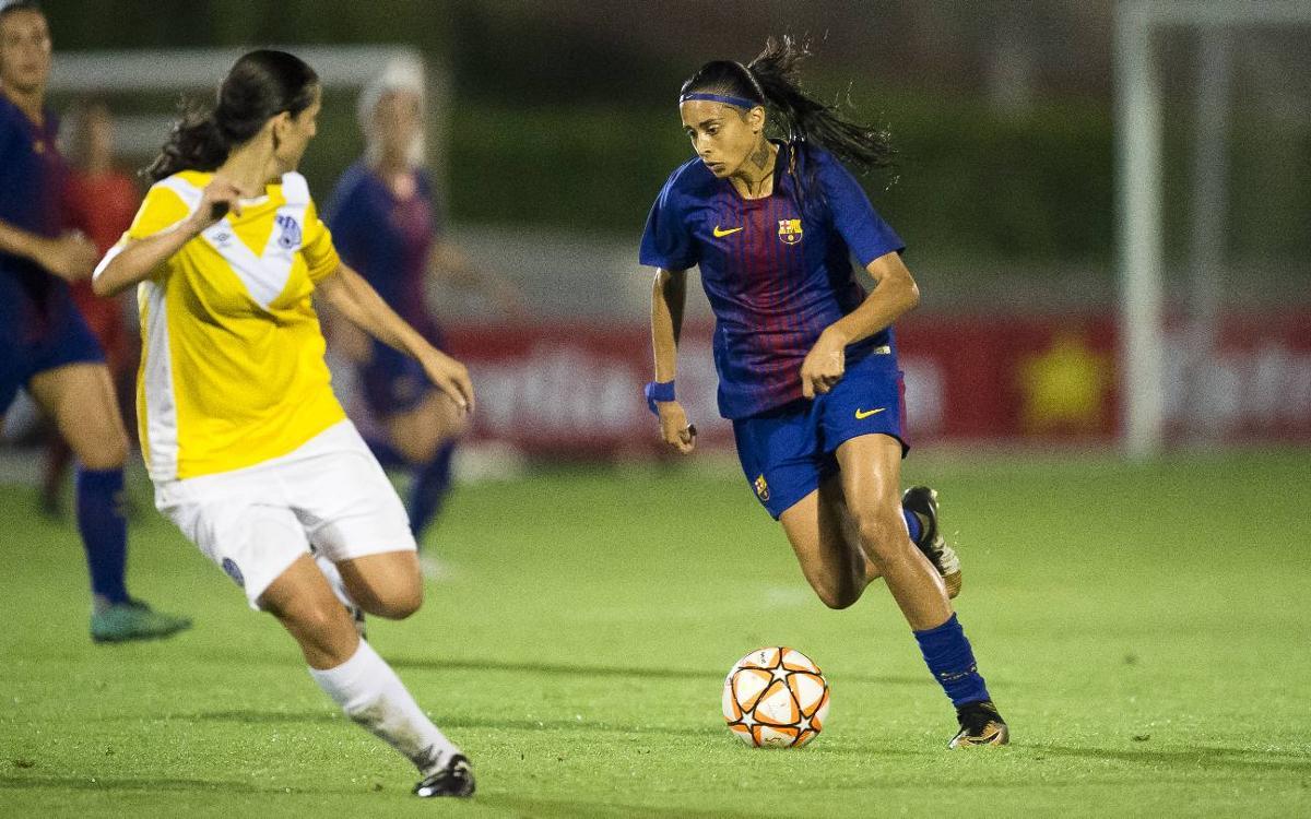 FC Barcelona Femenino - CE Europa: ¡Goleada y a la final! (5-0)