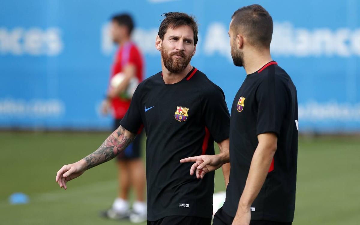 La convocatoria para el debut en La Liga