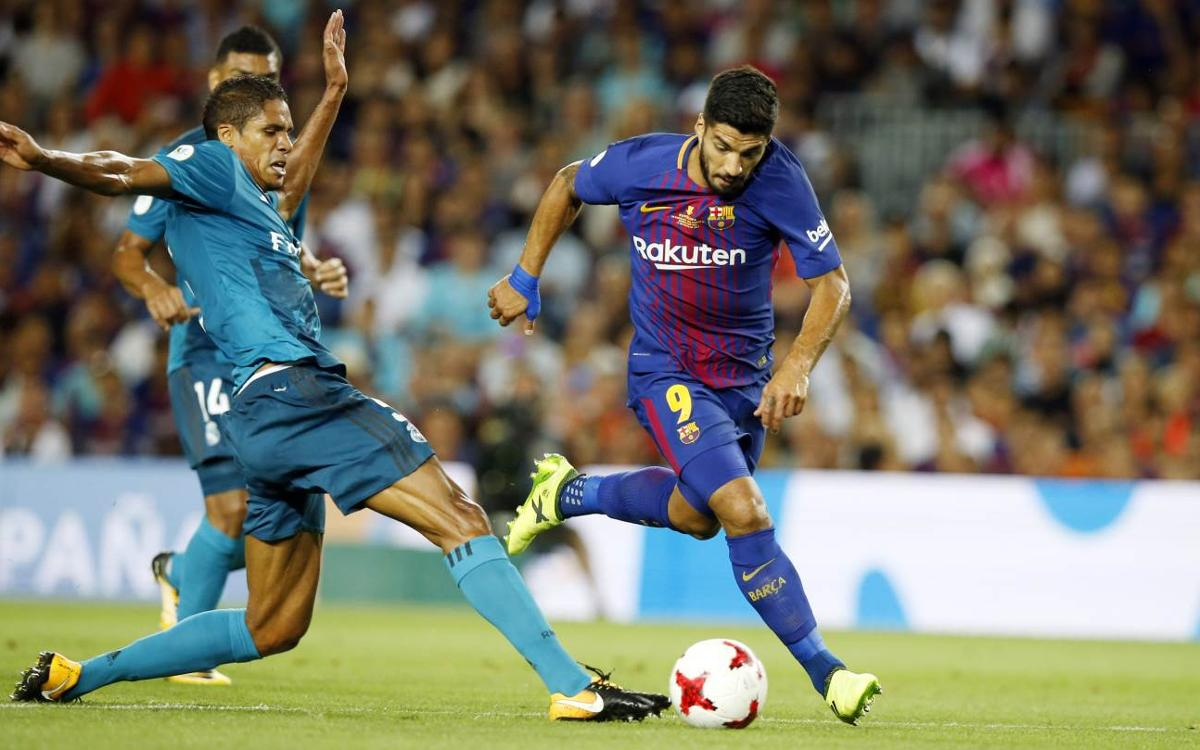 El resum del partit d'anada entre el Barça i el Reial Madrid