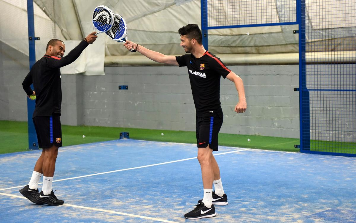 Del balón, a la raqueta