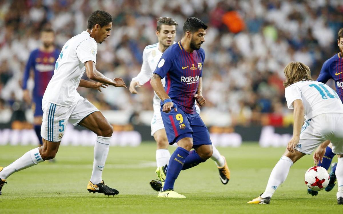Reial Madrid – FC Barcelona: S'escapa la Supercopa d'Espanya (2-0)