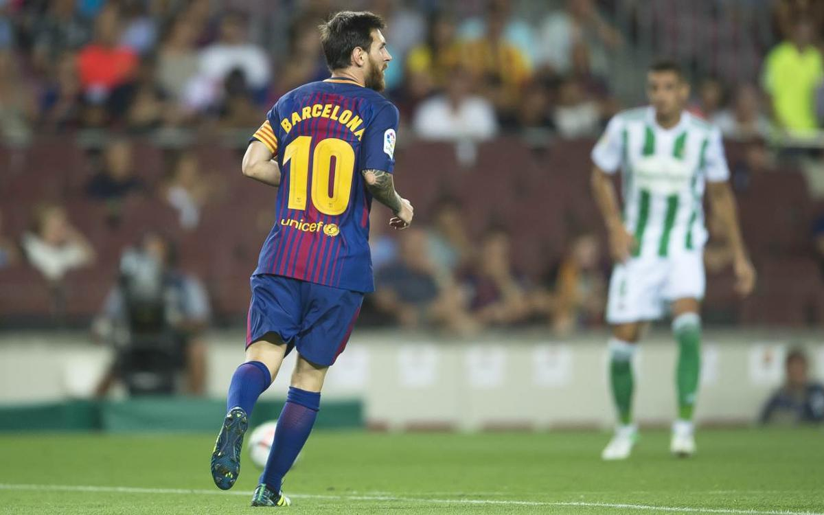 No luck for Leo Messi against Betis