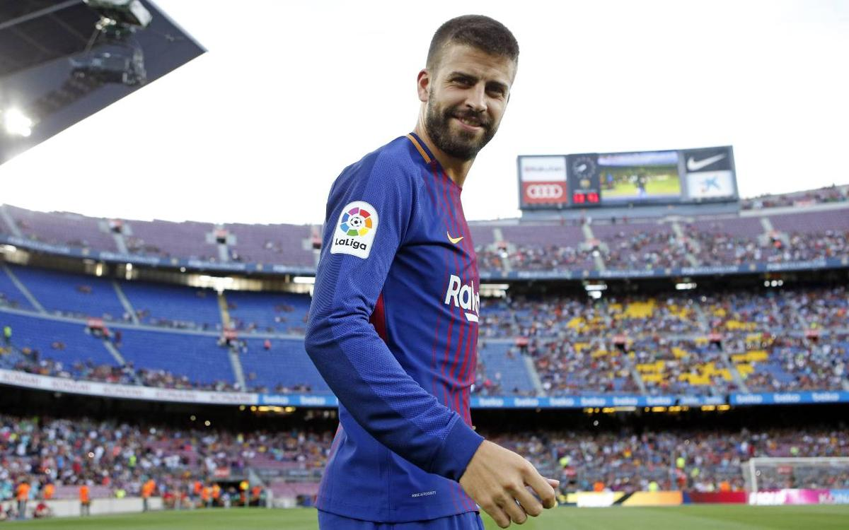 Gerard Piqué: 'We're feeling good and confident of winning the Super Cup'
