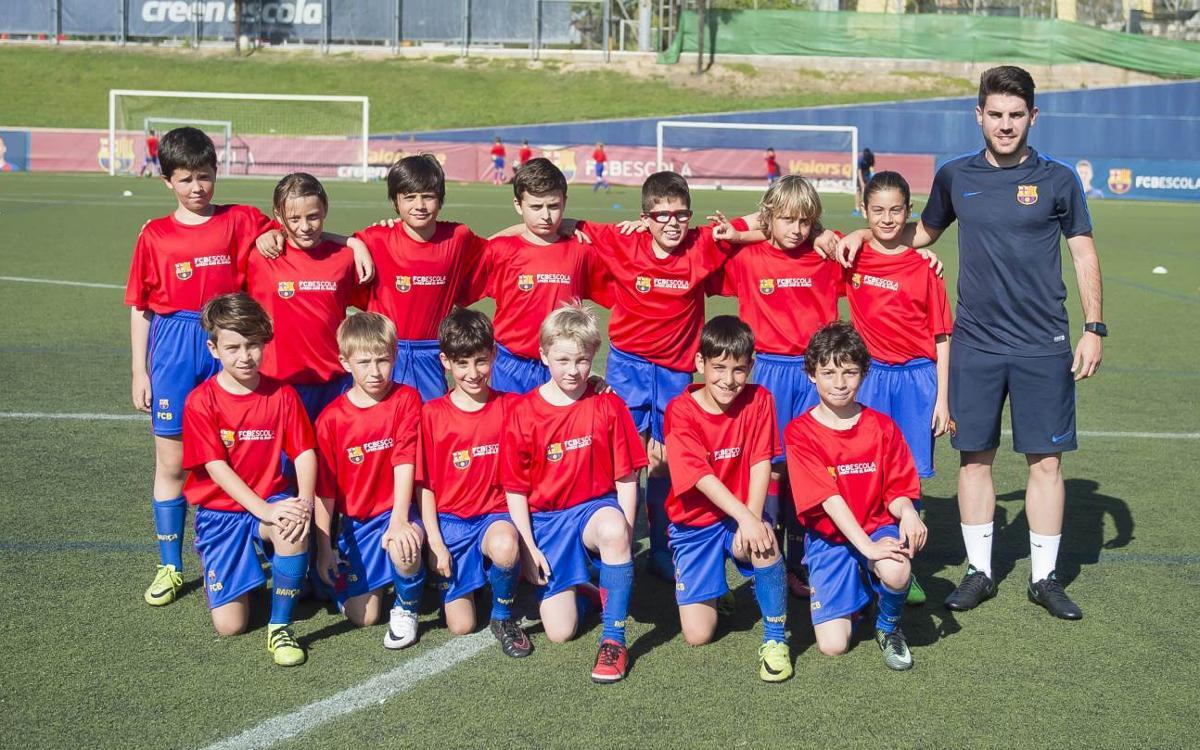 Inscripcions obertes per a 'Les classes del Barça'