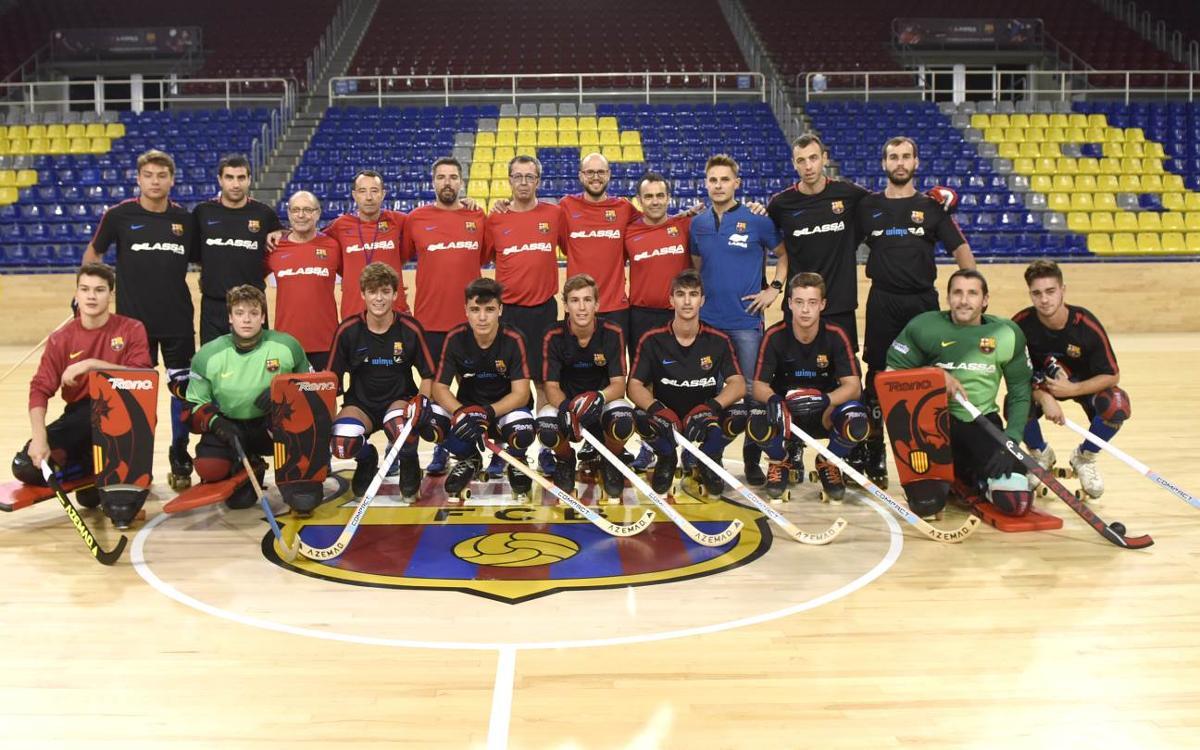 El Barça Lassa d'Edu Castro es posa els patins