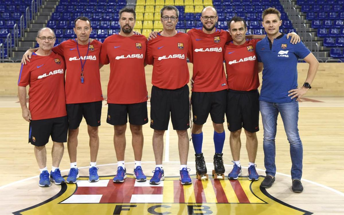 Dos caras nuevas en el cuerpo técnico del Barça de Edu Castro
