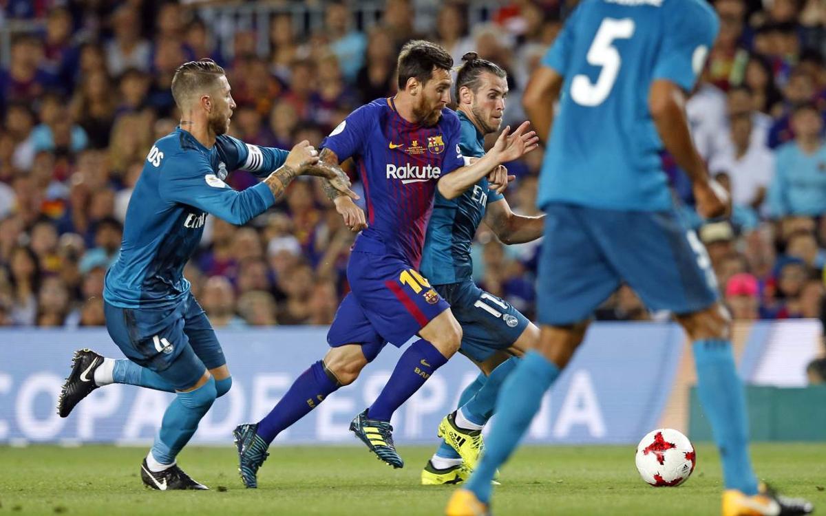 FCバルセロナ – レアルマドリード: 勝負は第二戦へ (1-3)