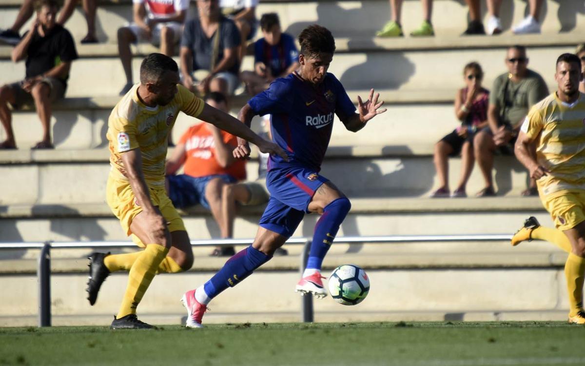 Barça B - Girona: Empate contra un Primera División (2-2)