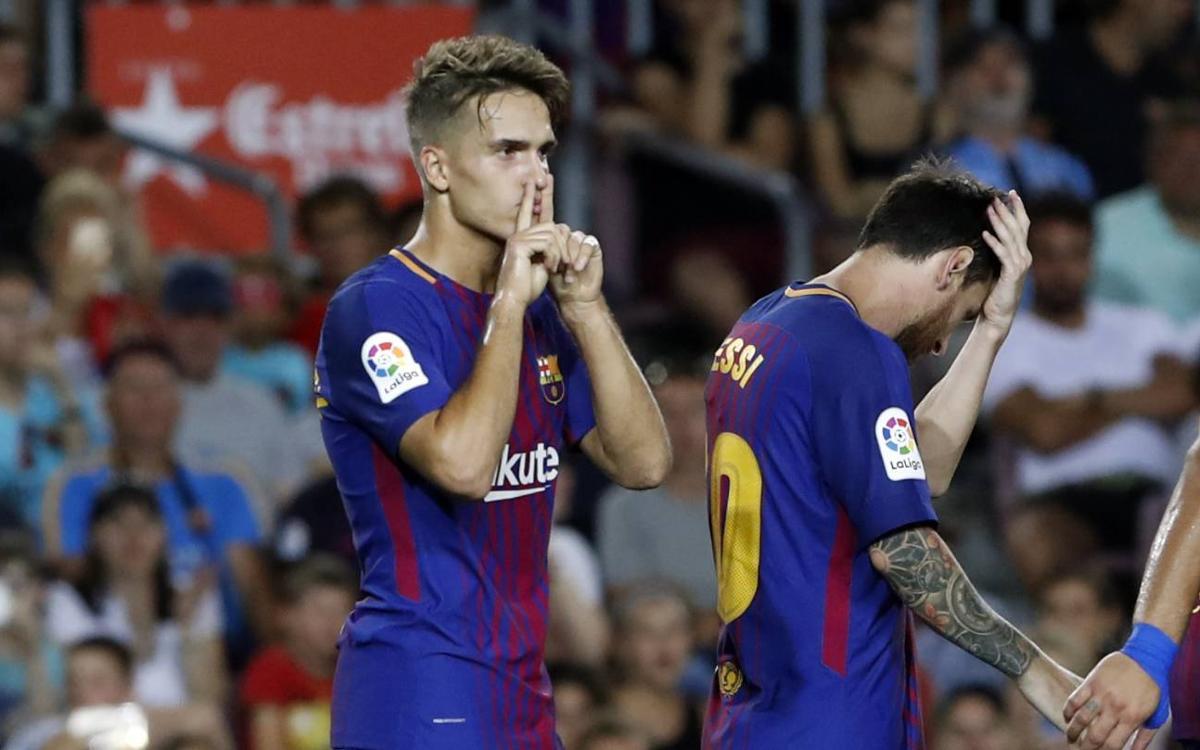 Los goles del Gamper contra el Chapecoense