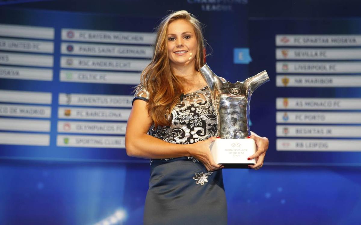 Lieke Martens, escollida jugadora de l'any de la UEFA