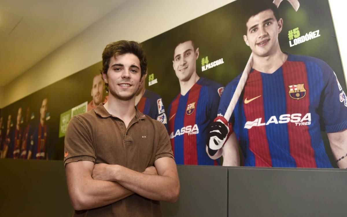 Ignacio Alabart s'incorpora al primer equip del Barça Lassa