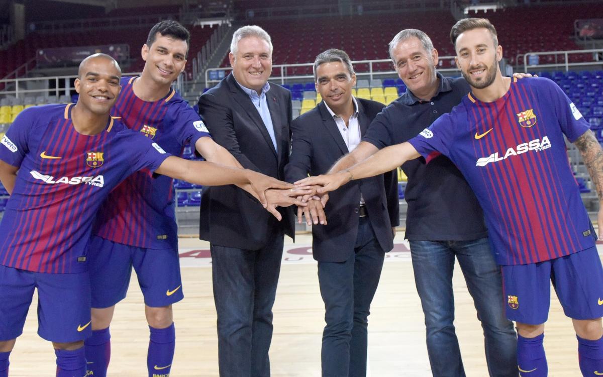 Trío de ases para reforzar al Barça Lassa