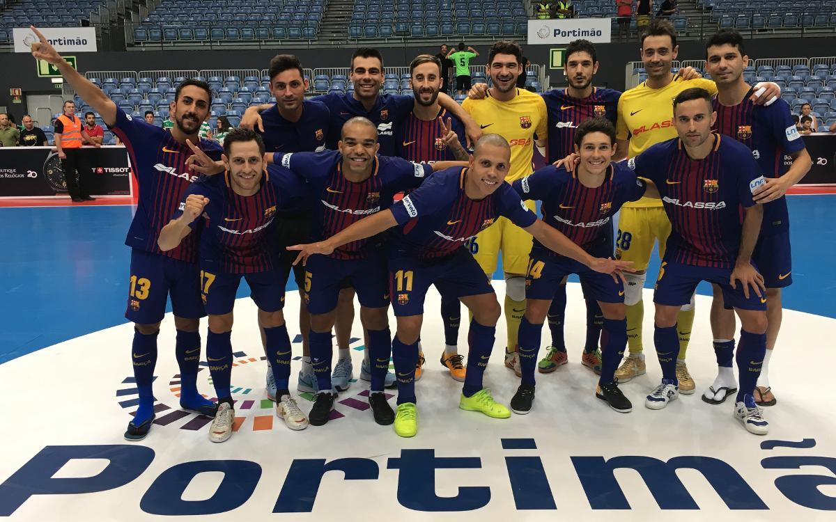 FC Barcelona Lassa – Sporting Club de Portugal: Triomf d'orgull per conquerir la Masters Cup (4-3)