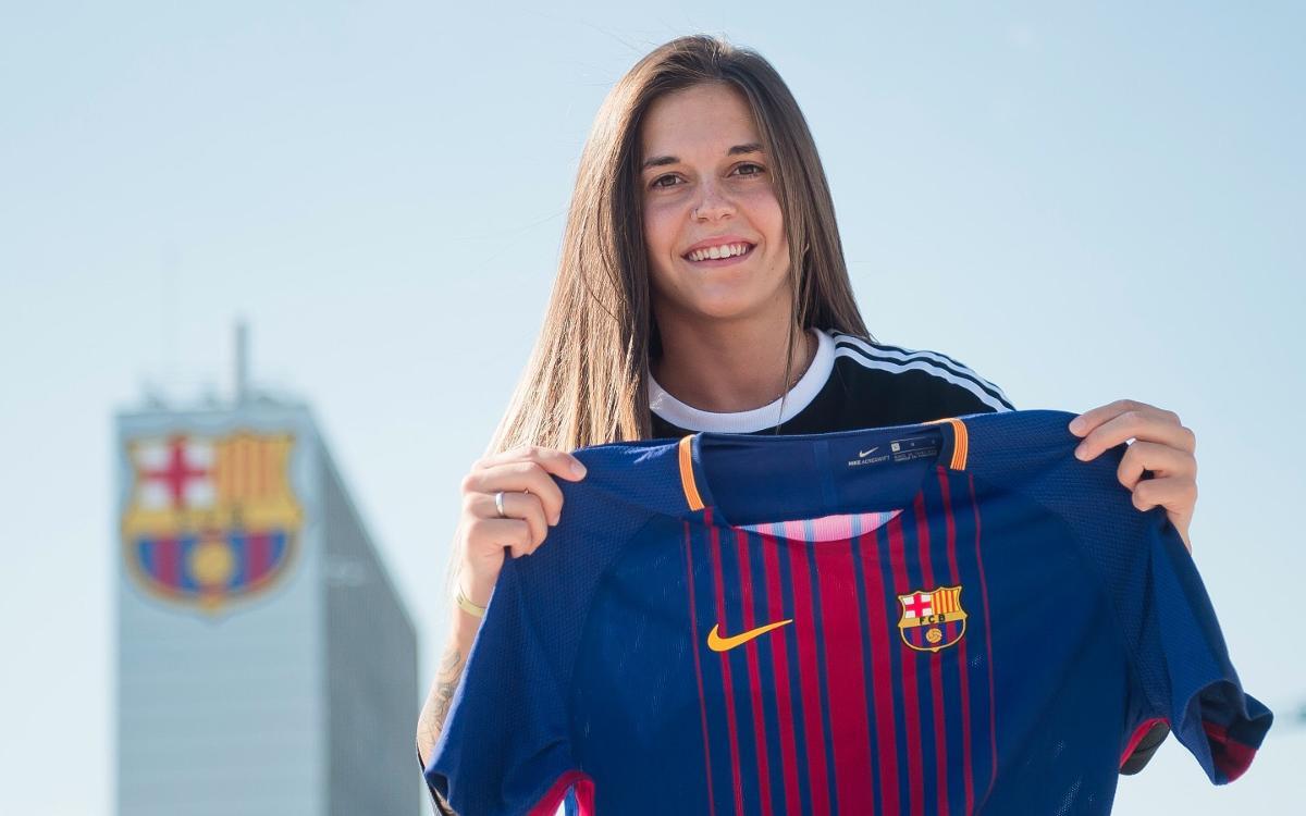 """María León: """"El nou projecte del Barça és molt il·lusionant"""""""