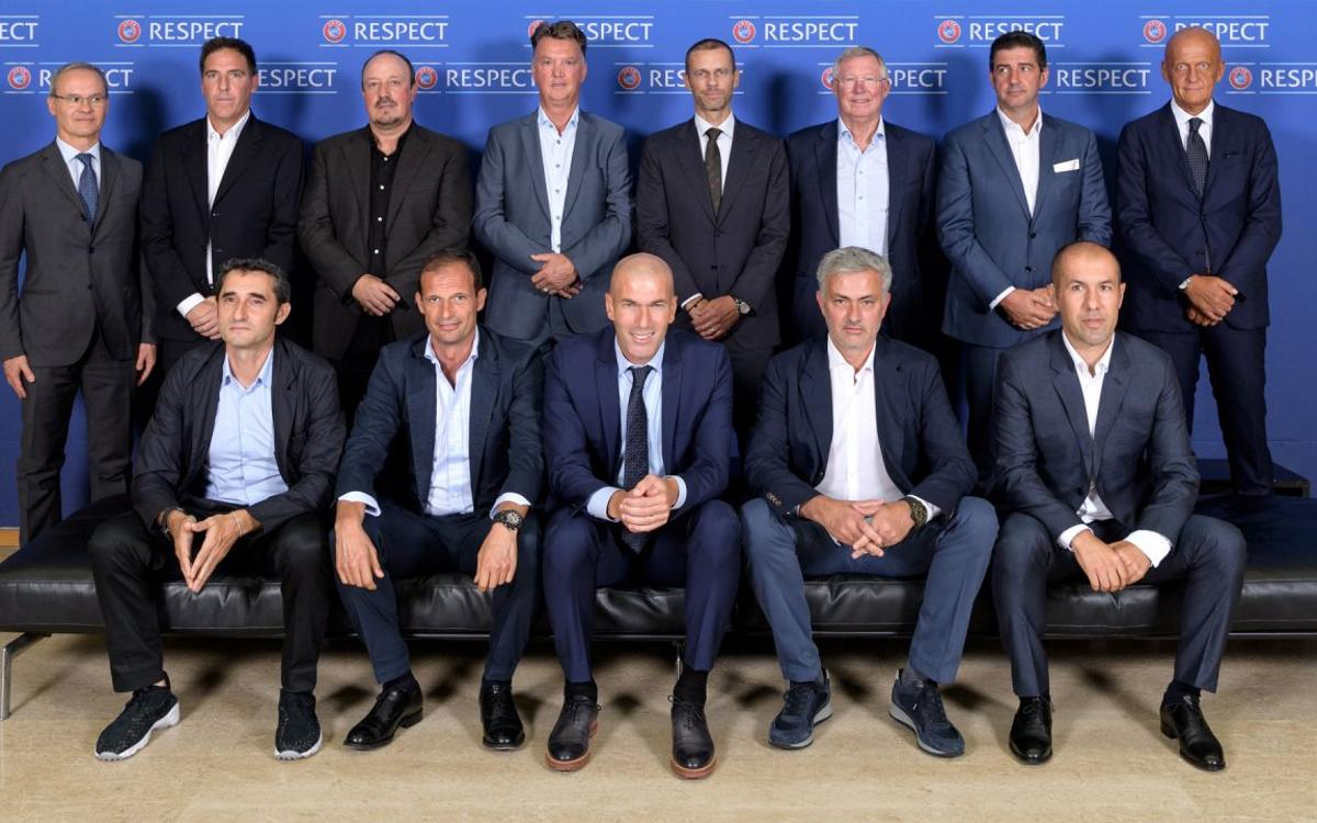 Ernesto Valverde, at the UEFA Coaches Forum
