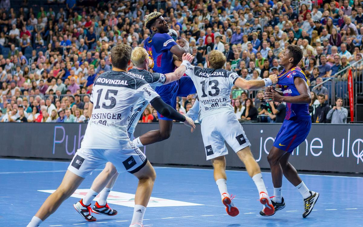 THW Kiel 35-29 FC Barcelona Lassa: Debuts and defeat in Germany