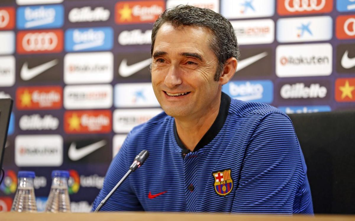 Ernesto Valverde sees Dembélé signing as 'exciting'