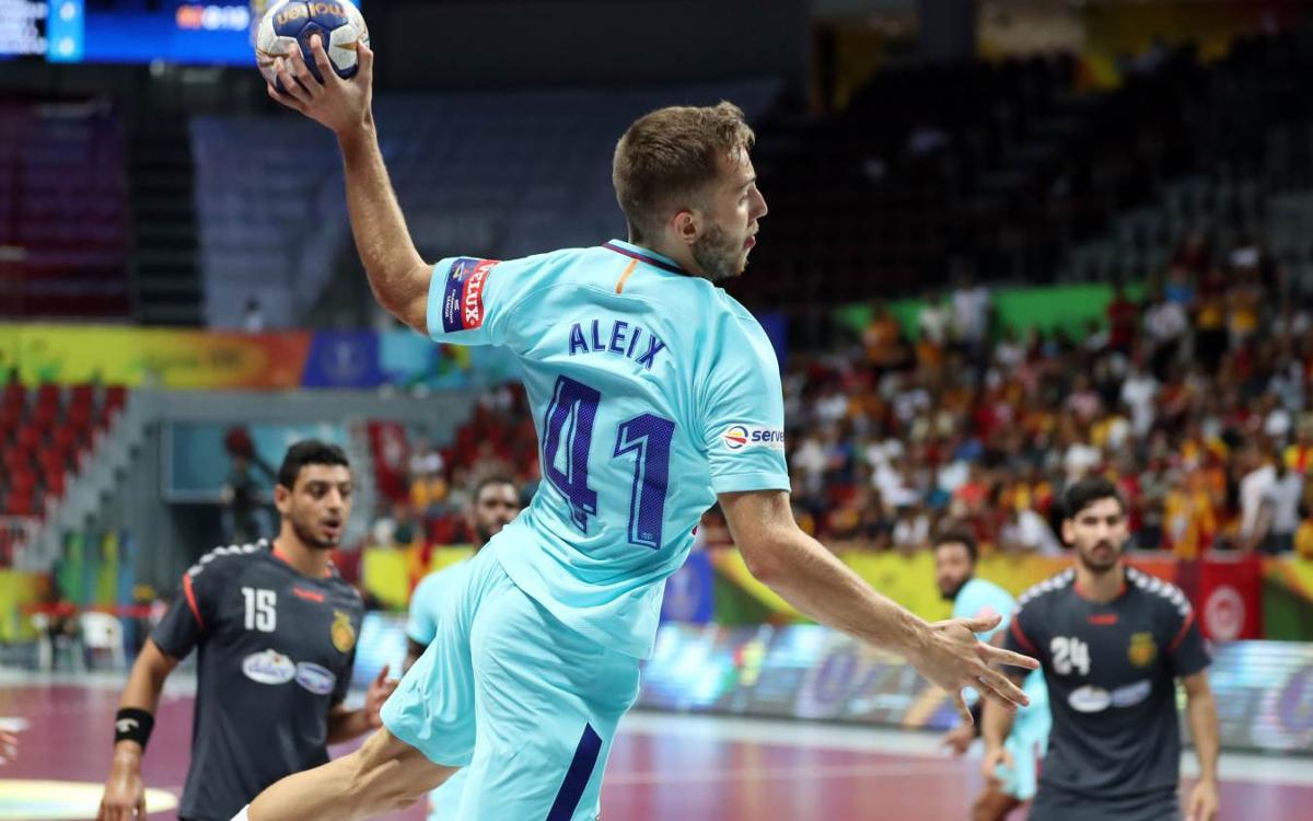 FC Barcelona Lassa – Espérance Sportive: Into the Super Globe semis (42-24)