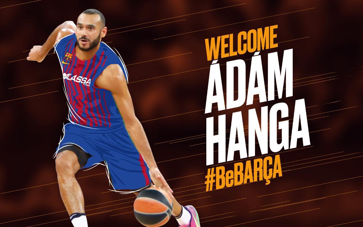 Adam Hanga, new recruit for Barça Lassa