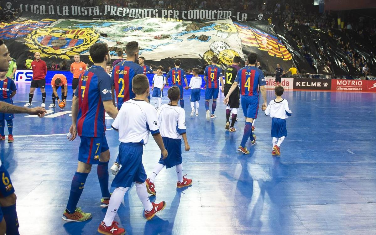 'Match-ball' al Palau Blaugrana