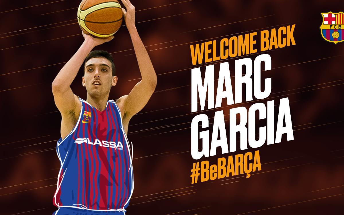 Marc Garcia vuelve a la disciplina del Barça Lassa