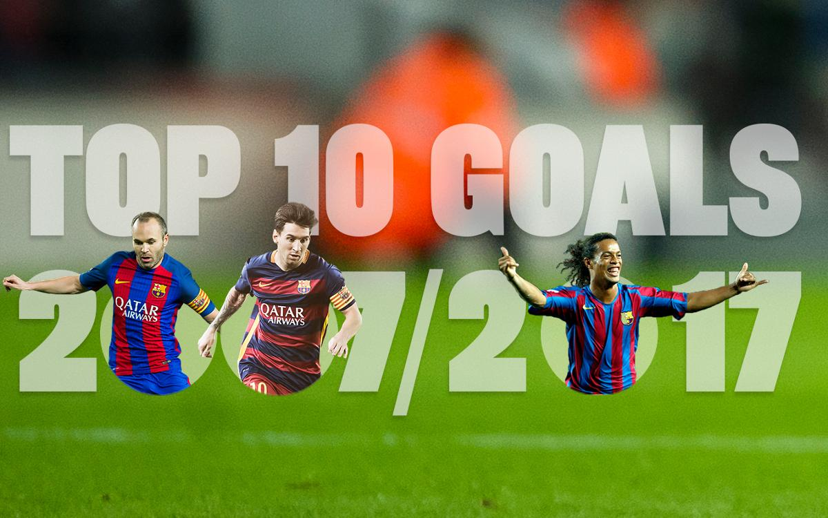 The best 10 goals from the past 10 La Liga seasons