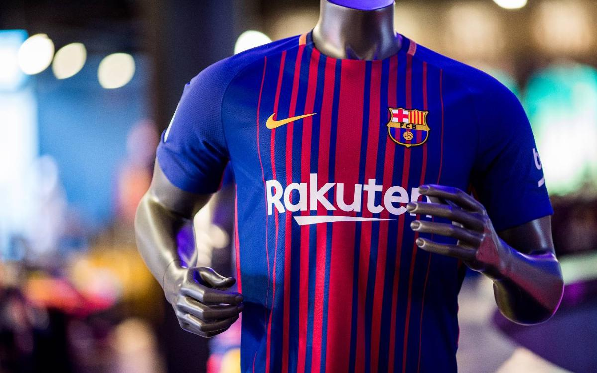 Rakuten sponsorship deal with FC Barcelona begins