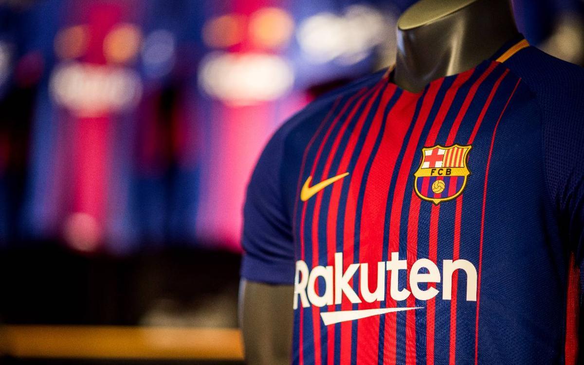 Début de l'ère Rakuten pour le FC Barcelone